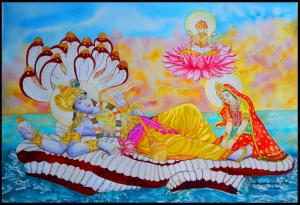 Lord Vishnu on Sheshanag